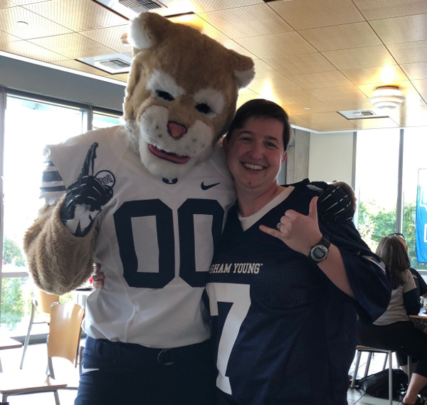 Me with Cosmo the Cougar